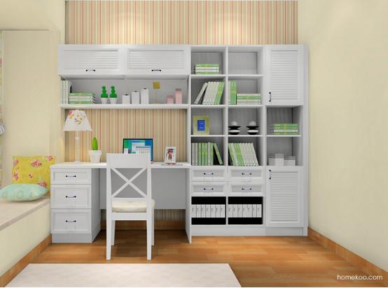 书柜设计效果图大全2016图片