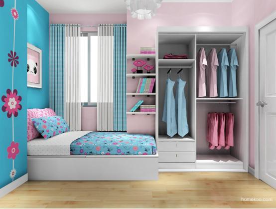 儿童衣柜门图片