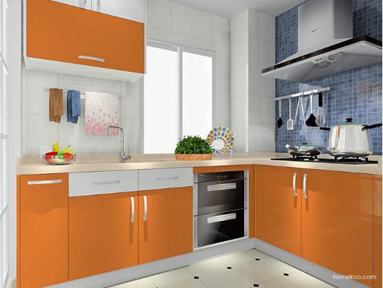 小户型厨房装修图片