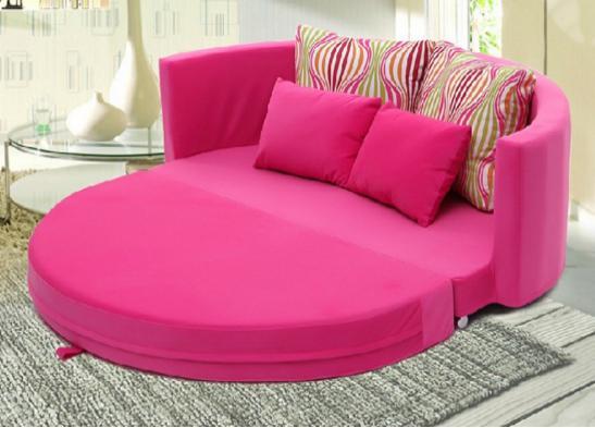 双人折叠沙发床图片