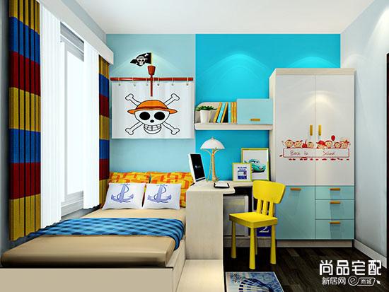 儿童卧室风水布局