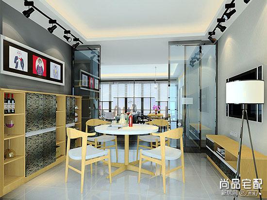 餐厅背景墙造型