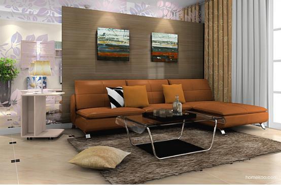 适合现代都市人的欧式装修风格现在是非常流行的,简约的家居风格往往可以轻易地捕获人心。现代都市流行的欧式沙发图片看上去非常地温暖,而且还不乏大气的感觉,可以为家人和客人带来非常温暖的体验,让主人的生活变得更加美好。   欧式沙发图片北欧阳光效果图一    空间的设计选择的是粉色的板材,呈现出来的浪漫的空间,搭配上紫色的图案玻璃,呈现给人的是一种非常温馨而雅致的魅力,对于北欧阳光的诠释是相当不错的,沙发的造型是非常简约的真皮设计,整体的感觉是清新而质朴的。   欧式沙发图片北欧阳光效果图二    这