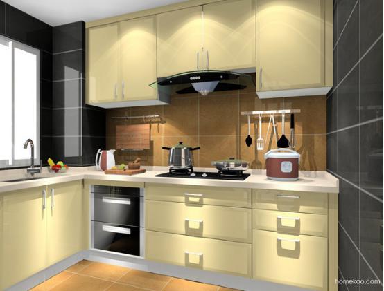 小户型厨房装修效果图欣赏