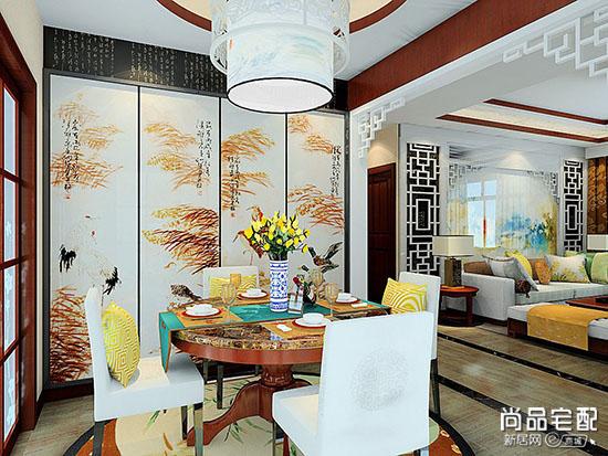餐厅装饰柜风格