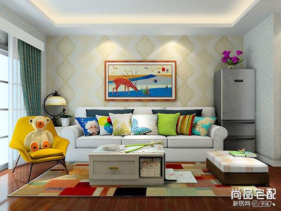 豪华客厅装修样板房