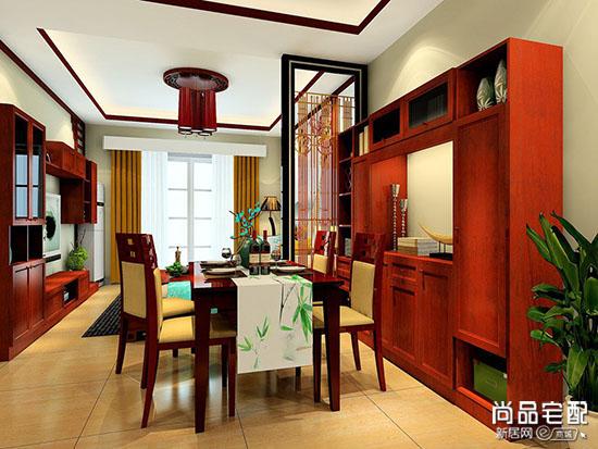 简单中式书房