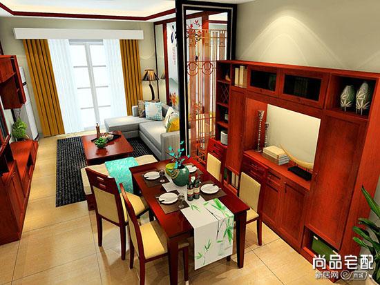 新中式餐厅设计说明
