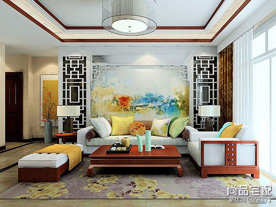 中式木沙发