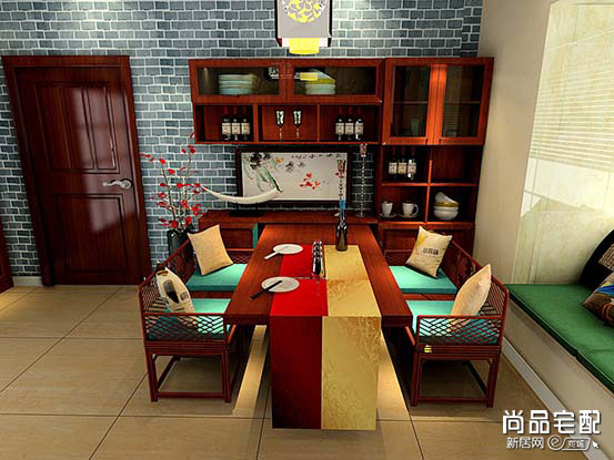 家用圆餐桌图片