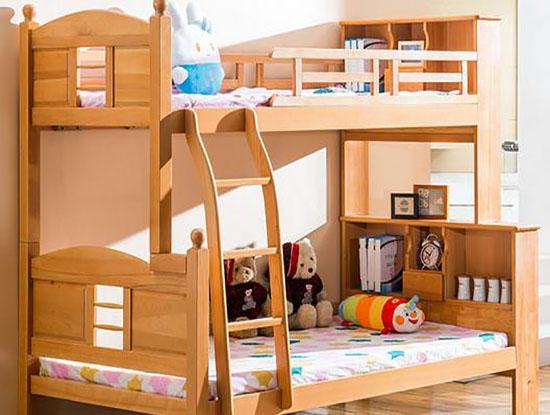 实木儿童床图片