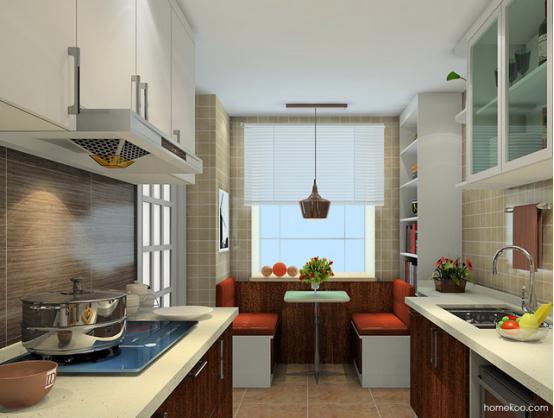 现代厨房装饰效果图