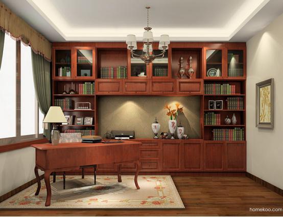 书房装修效果图大全图片