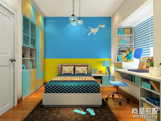儿童房卧室背景墙