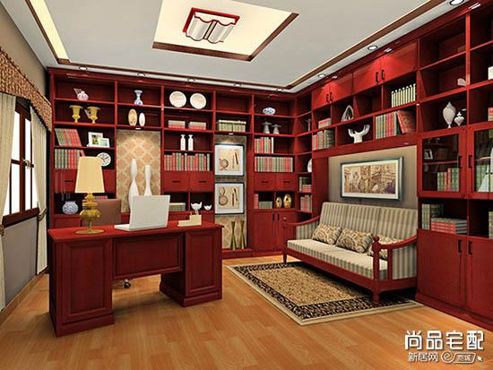 书房样板间图片