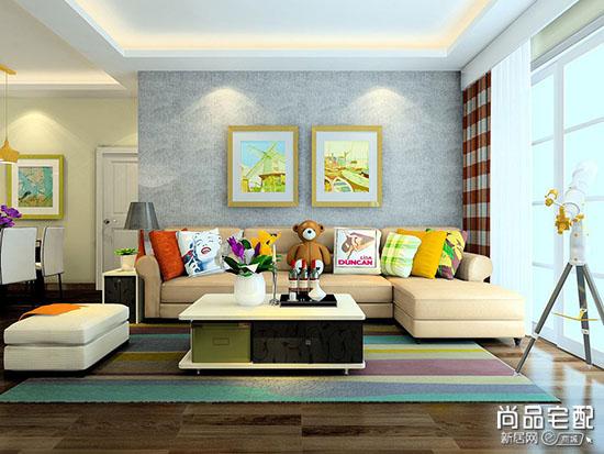 客厅瓷砖图片