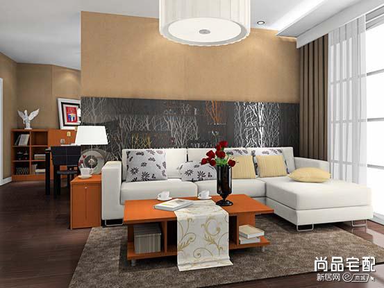 中式沙发效果图