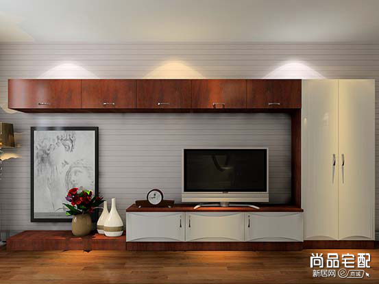 中式电视组合柜