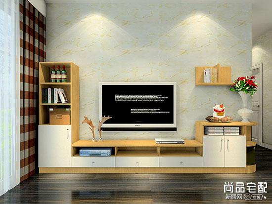 美式组合电视柜图片