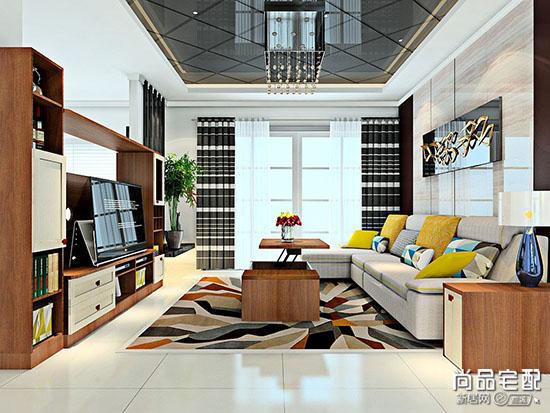客厅飘窗设计效果图