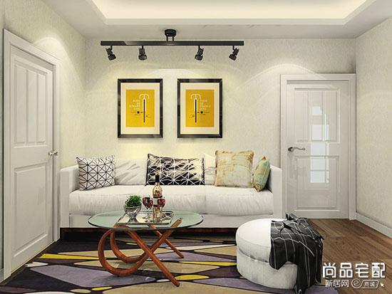 沙发背景墙效果图大全2017图片