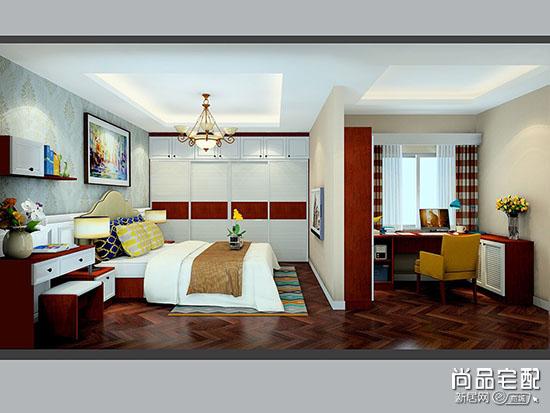 卧室隔断墙装修效果图