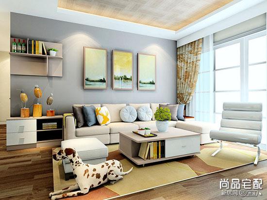 南洋风格布艺沙发图片