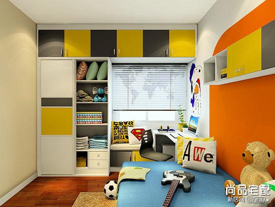 儿童房装修效果图男孩