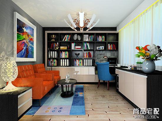 创意小书房装修效果图