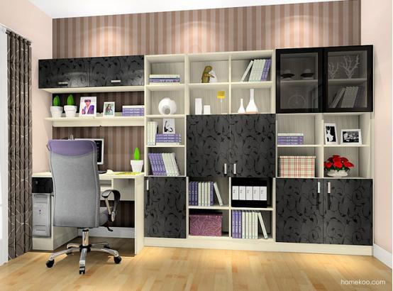 书柜设计图片 书柜效果图大全图片图片