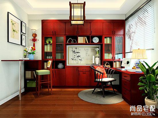 飘窗书桌书柜设计图