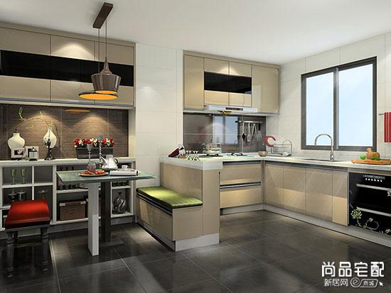 开放式厨房整体设计