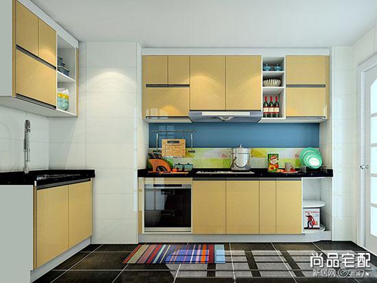 中式厨房推拉门效果图