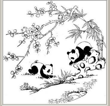 动物黑白装饰画图片好在哪里