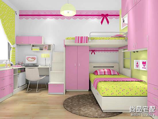 儿童房装修效果图女孩