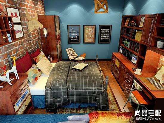 青少年卧室装修
