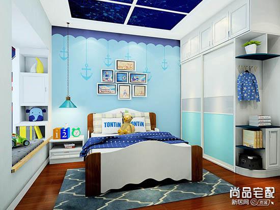儿童房装修效果图小户型