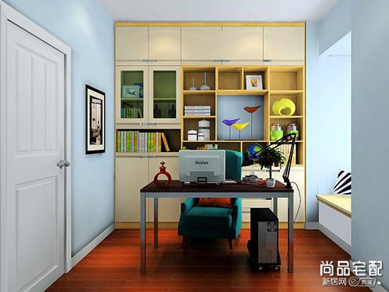 小平米书房装修