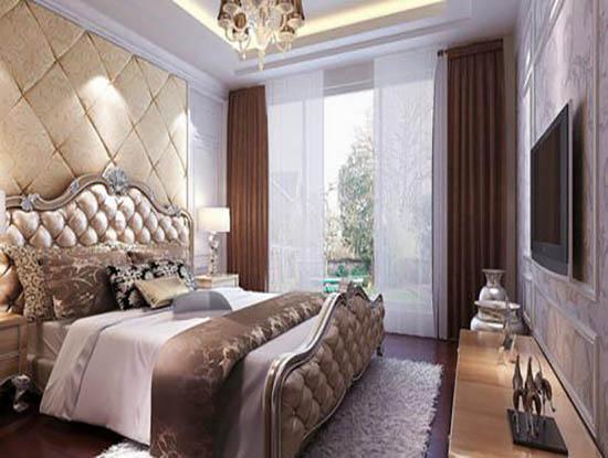 欧式女生卧室装修效果图图片