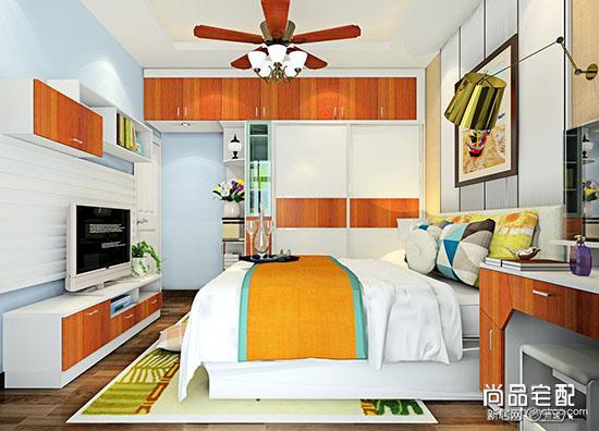 田园风格装修图片卧室