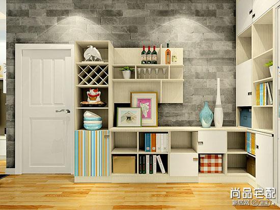 现代家装酒柜效果图
