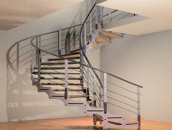 室内铁艺楼梯