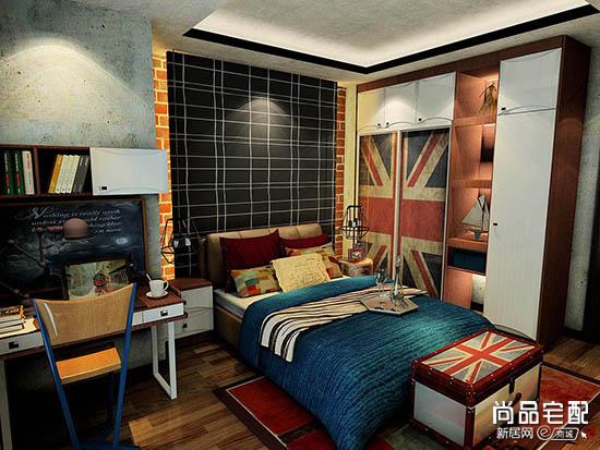 儿童卧室背景墙设计