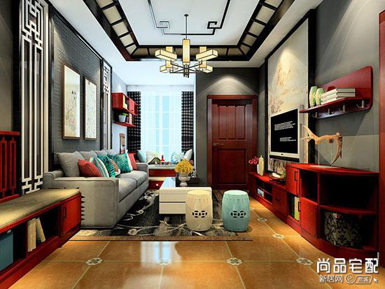 新中式客厅吊灯