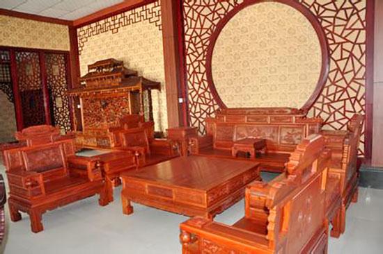 缅甸花梨木家具价格