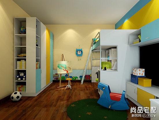 男孩儿童房设计
