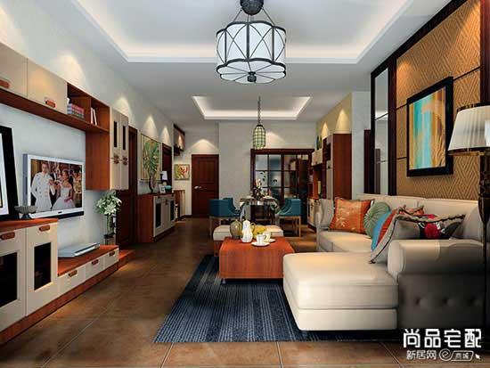 客厅挂欧式吊灯多大的合适