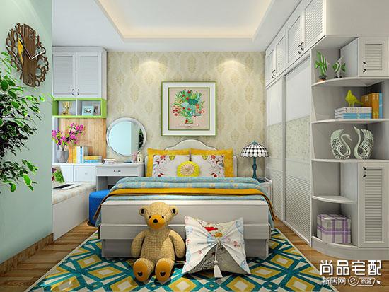 榻榻米卧室兼书房
