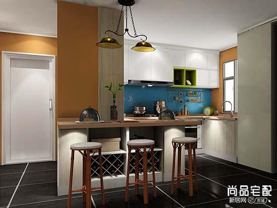 开放式小厨房设计