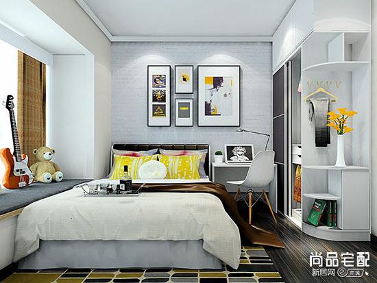 欧式卧室床头背景墙怎么设计图片